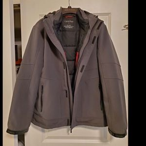 Calvin Klein gently used 3 in 1 jacket. Size M